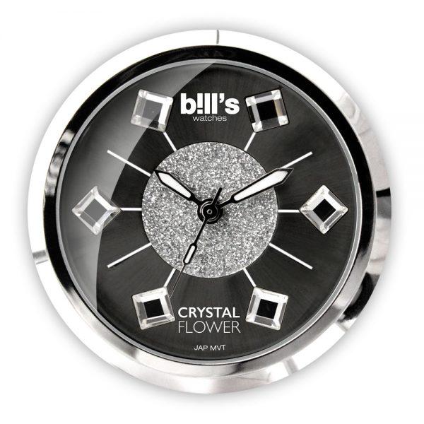 Cadran Classic - Crystal Flower - Black